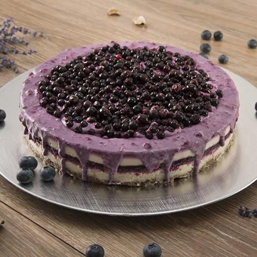 Tort  vanilie si afine